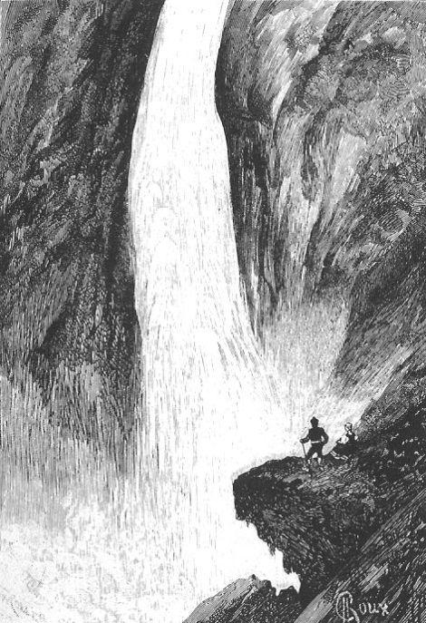 "Rjukanfossen (George Roux) ""Un billete de loterie"" (""Loddseddelen"") Paris: Hetzel, 1886"