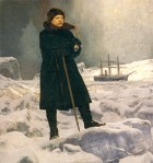 A.E. Nordenskiøld - (maleri G.Rosen 1886)