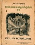 """""""Den hemmelighetsfulde ø"""" - Kristiania: Albert Cammermeyer 1918, bind 1"""