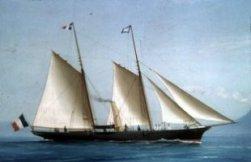 Vernes yacht, St.Michel III
