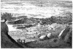 """Bolkesjø, illustrasjon fra """"Le tour du monde"""", 1860"""