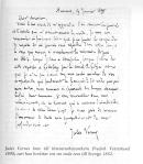 Verne-brev til Vetterlund i Sverige (fra Uno Asplunds biografi)