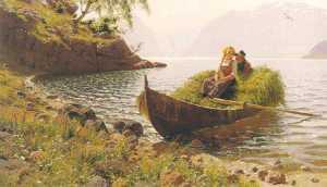 Hans Dahl, vestlandsfjord