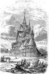Eglise d´Hitterdal, Le tour du monde 1860