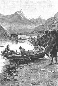 Vann-skyss (Tinnsjøen), Loddseddelen 1886