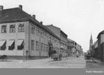 Victoria hotel, Christiania, 1880 (foto muligens Wilse)