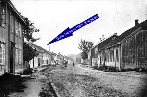 Enkefru Hansens hotell, Storgt.18, Kongeberg-V.S.Borgersen