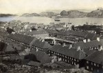 "Port of Stavern, ""Friderichsvern"" around 1860"