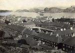 "Port of Stavern, ""Friderichsvern"" around 1860"