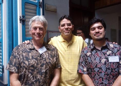 SHJV_Havana_deltagere_PerJohan_ArielCuba_JuanReneChile_juni2017